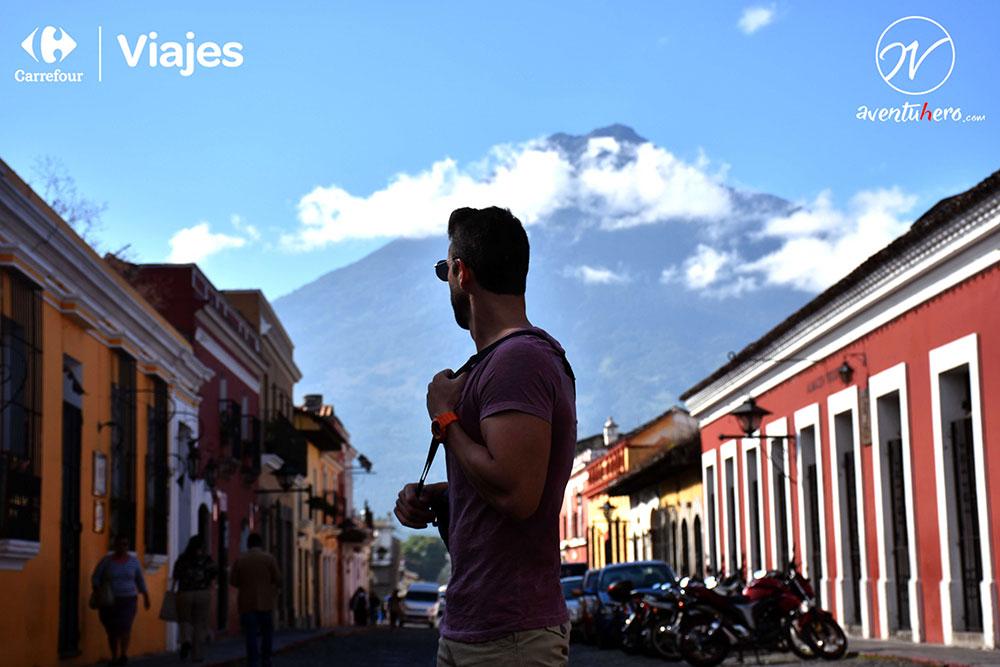 Aventuhero en Antigua, Guatemala