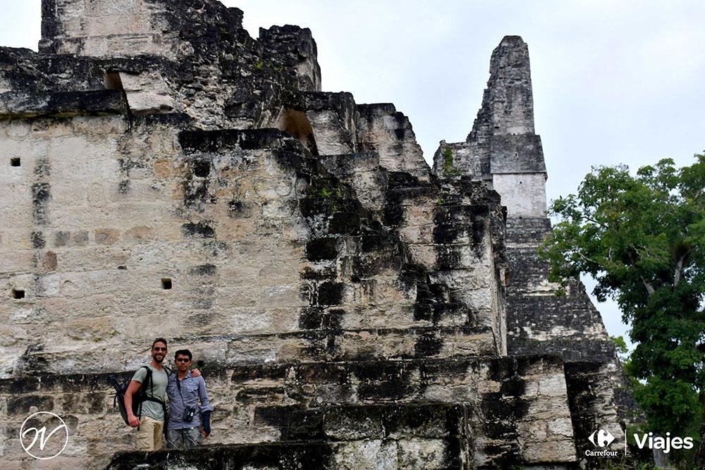 Aventuhero Guatemala Contreras nuestro guia de Tikal
