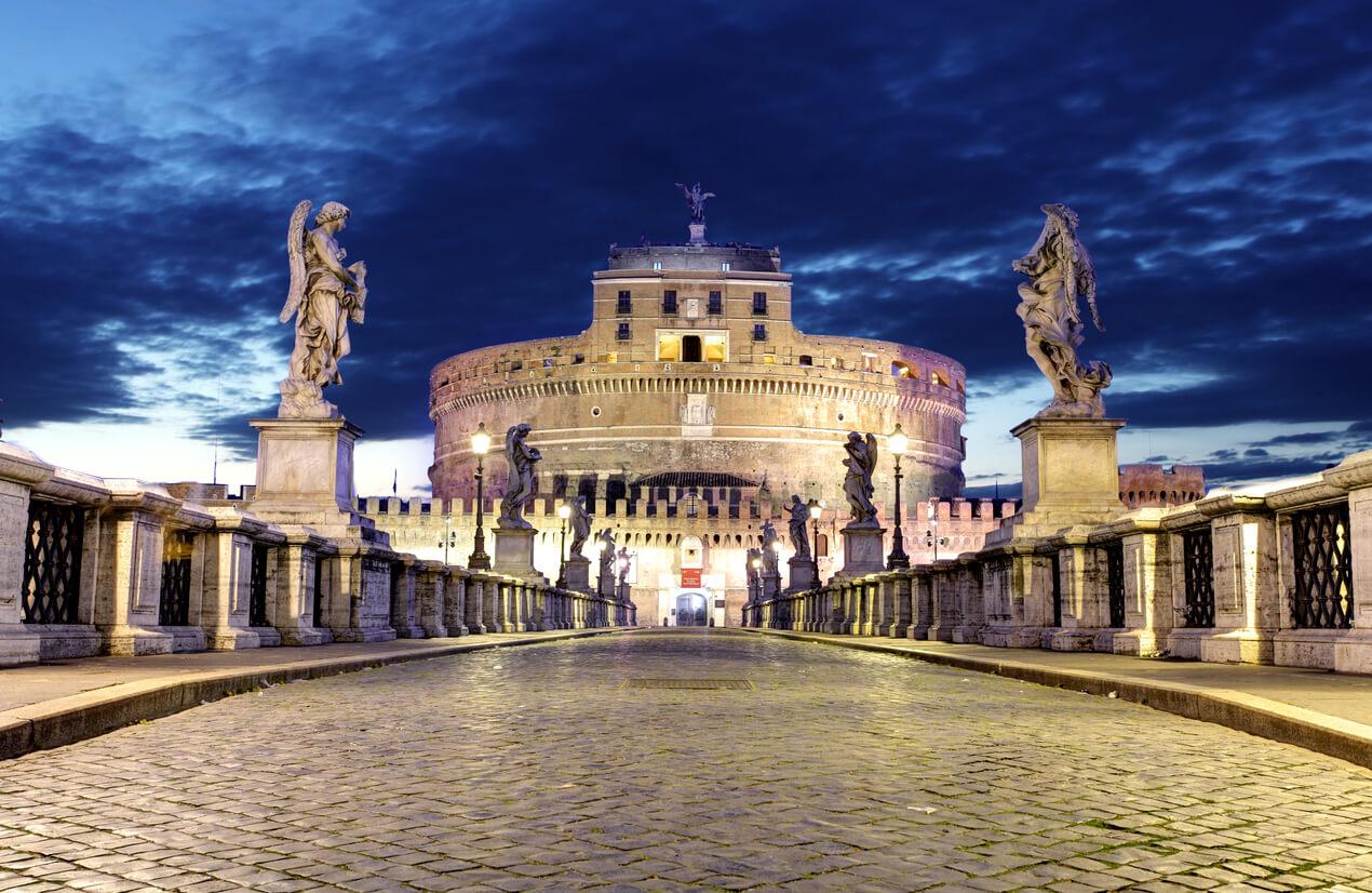 Castillo de Sant Angelo, 3 días en Italia