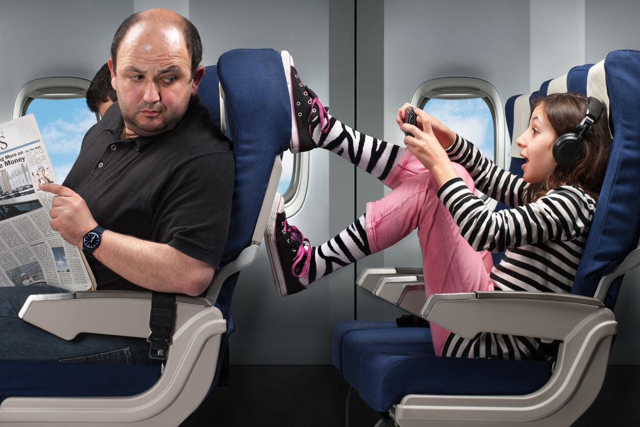 Consejos para el vuelo asientos
