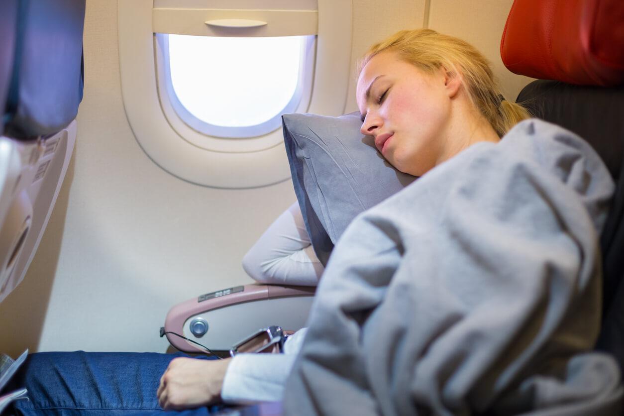 Dormir en el vuelo