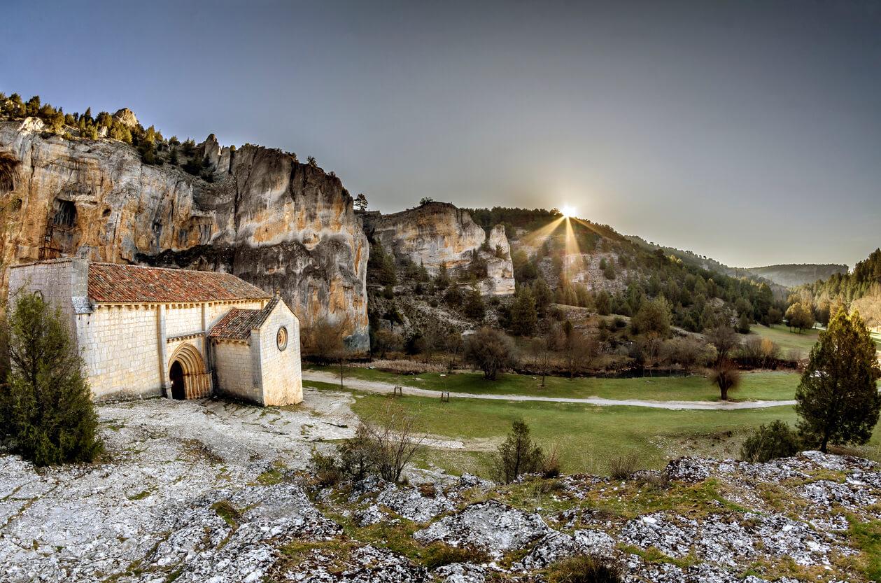 Ermita san bartolome canon rio lobos