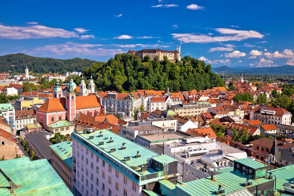 Destinos europeos baratos, Liubliana