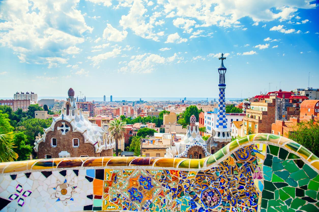 Parque Güell, Visitar Barcelona con poco dinero