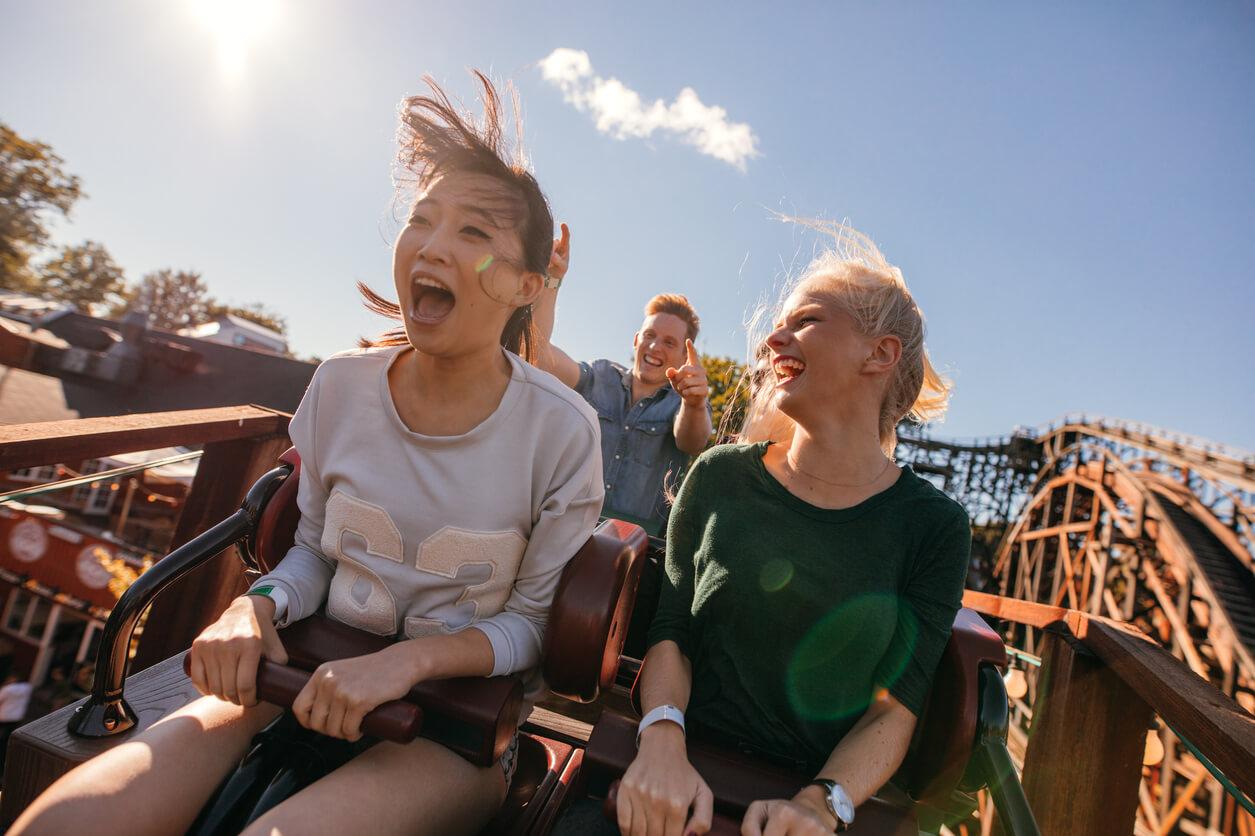 adrenalina parques de atracciones