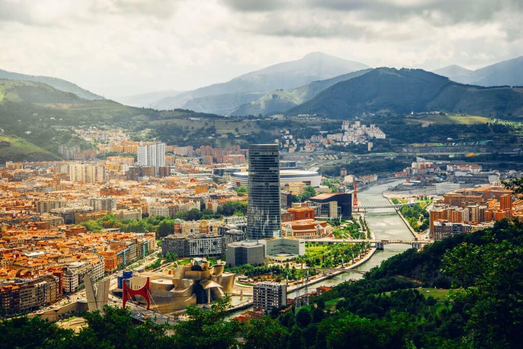 Bilbao, Panorámica de la ciudad