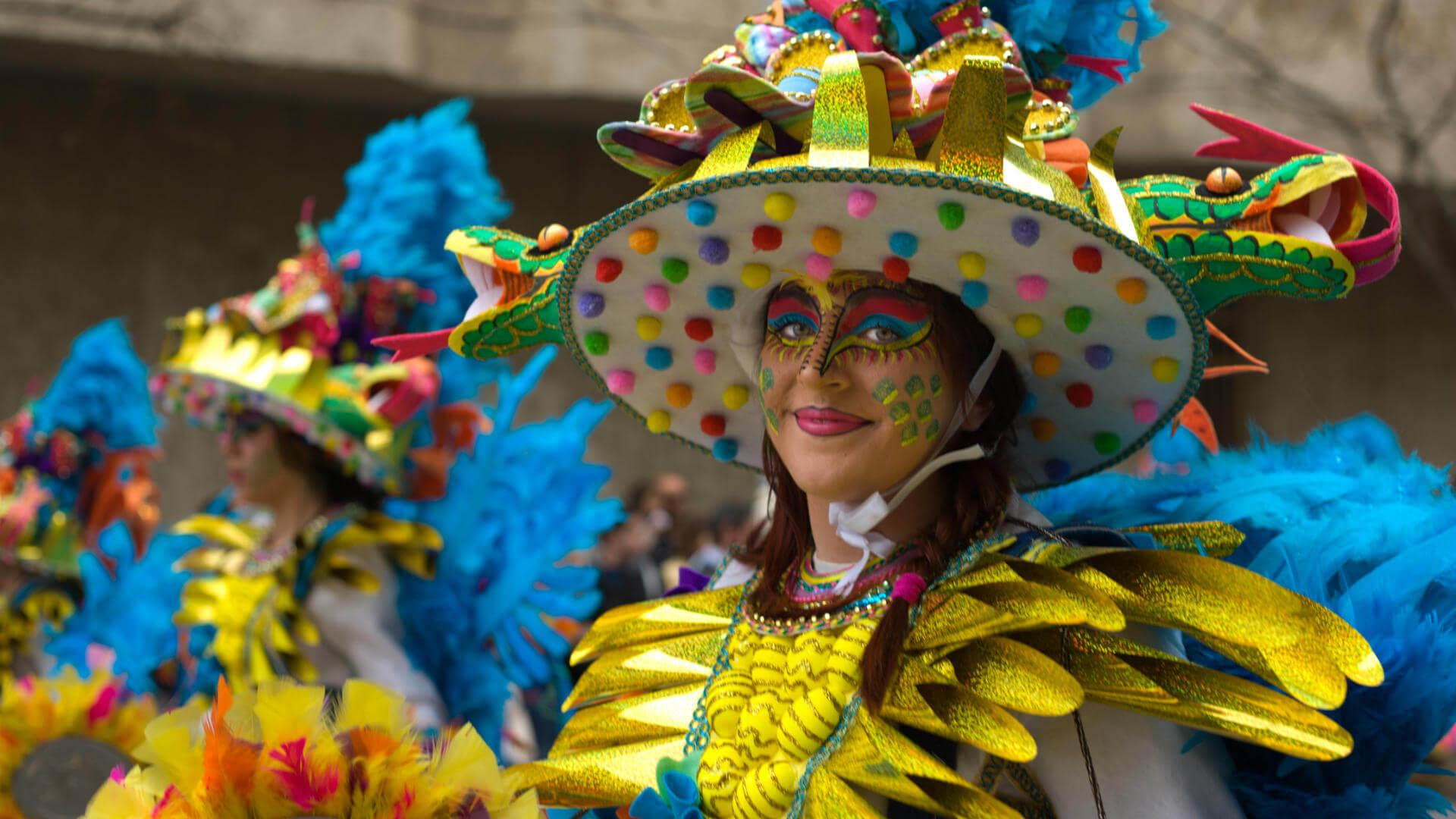 carnaval de badajoz desfile disfraces