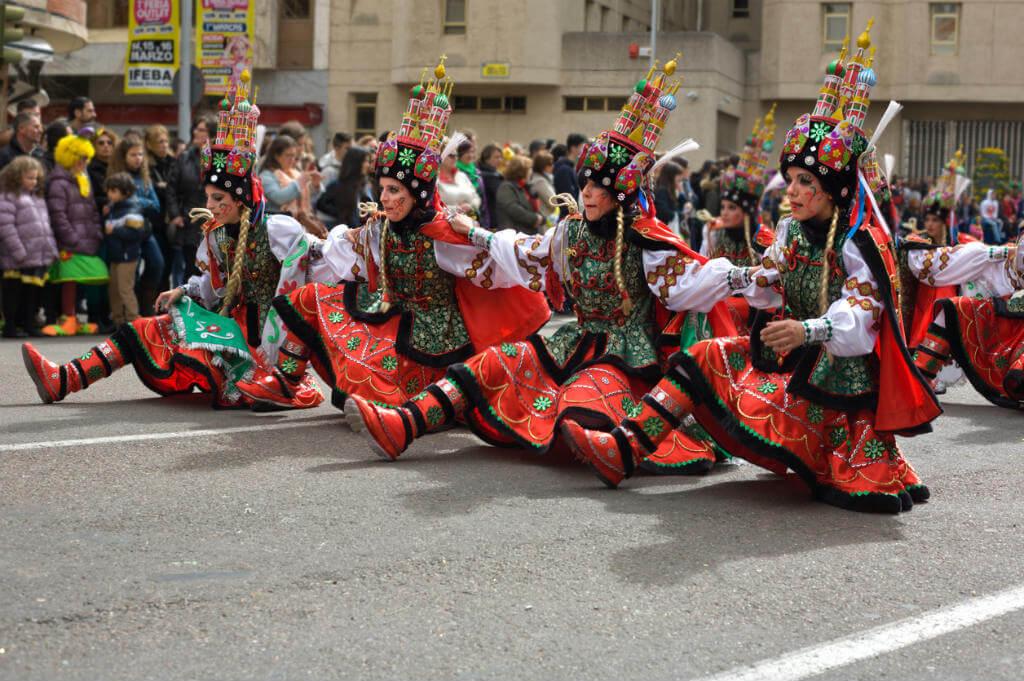 Carnaval de Badajoz, Desfile