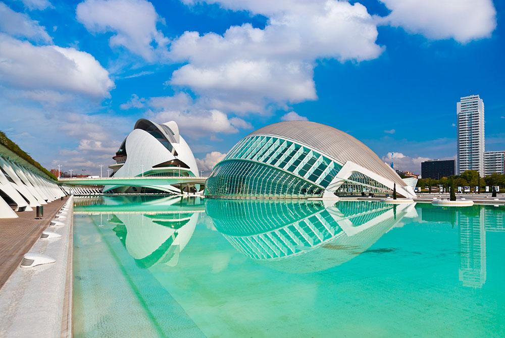 Ciudad de las artes ciencias Valencia