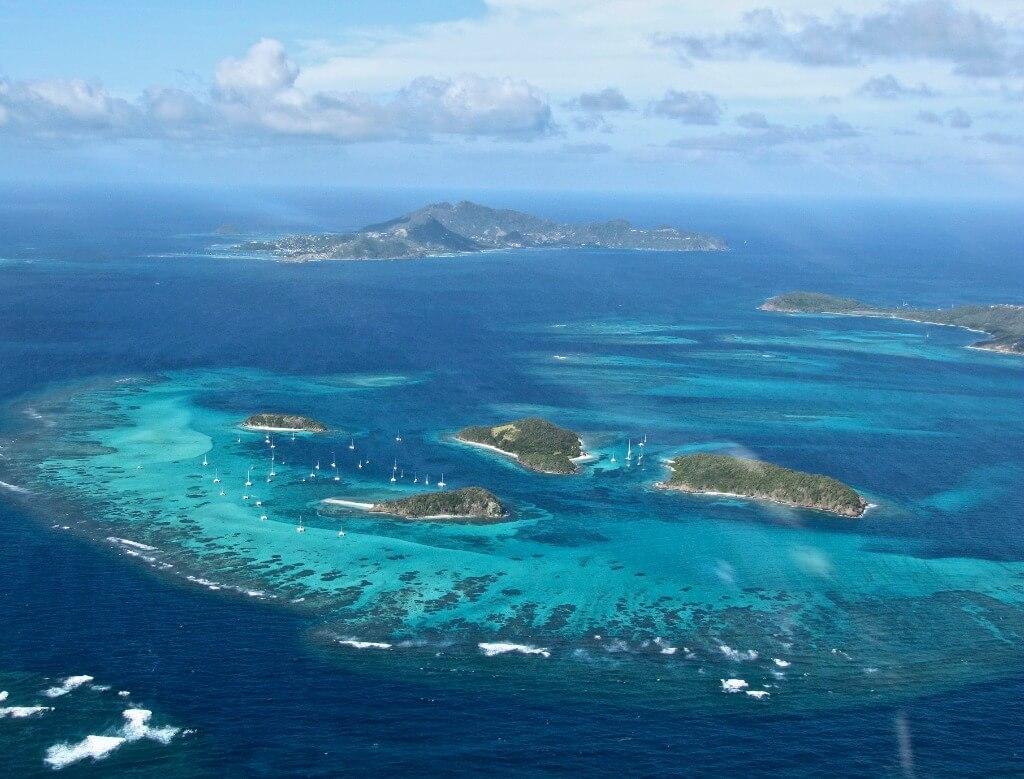 Cruceros por el Caribe y Antillas, Islas Granadinas