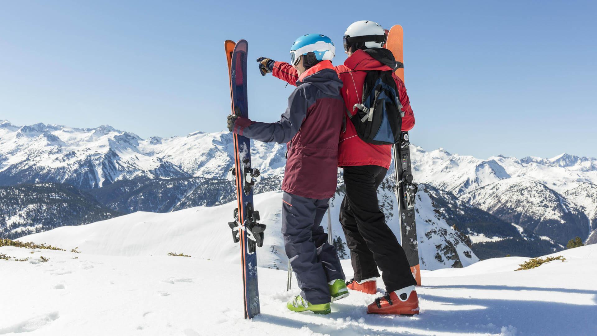 escapadas por espana esquiadores