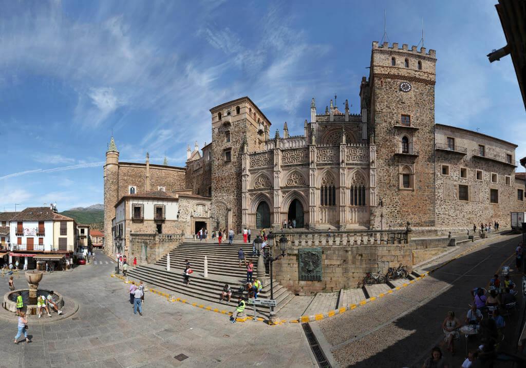 Guadalupe, Plaza Santa María de Guadalupe