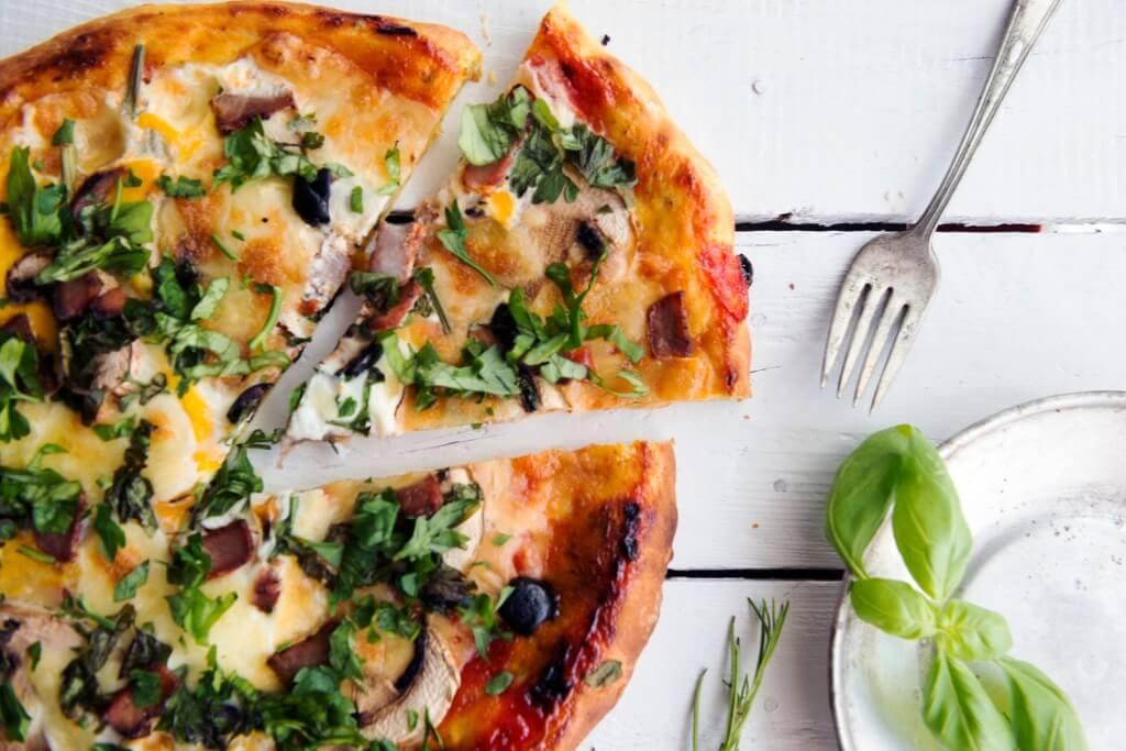 Italia en San Valentín, Pizza