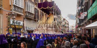 Málaga en Semana Santa, Procesión