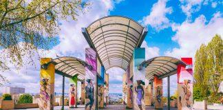 Parque Belleville, Murales