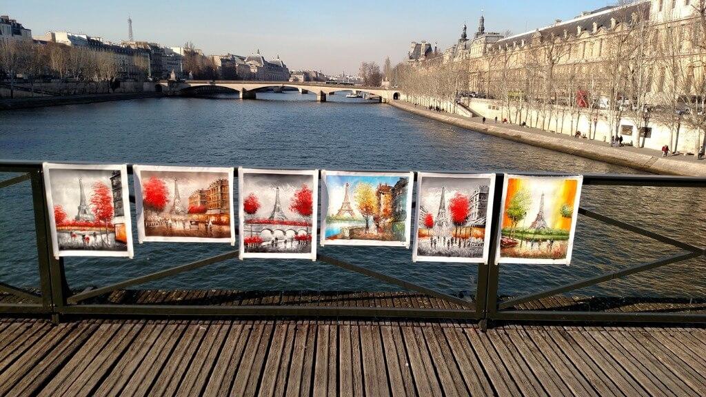 París, Pinturas Río Sena