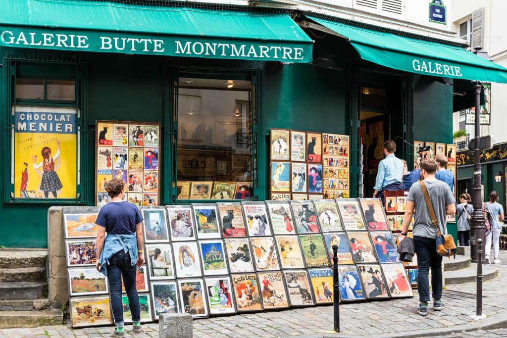 París, Puesto pinturas arte