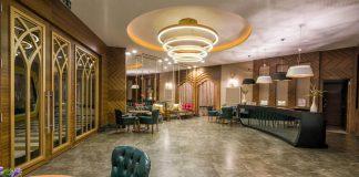 Recepción Hotel de lujo