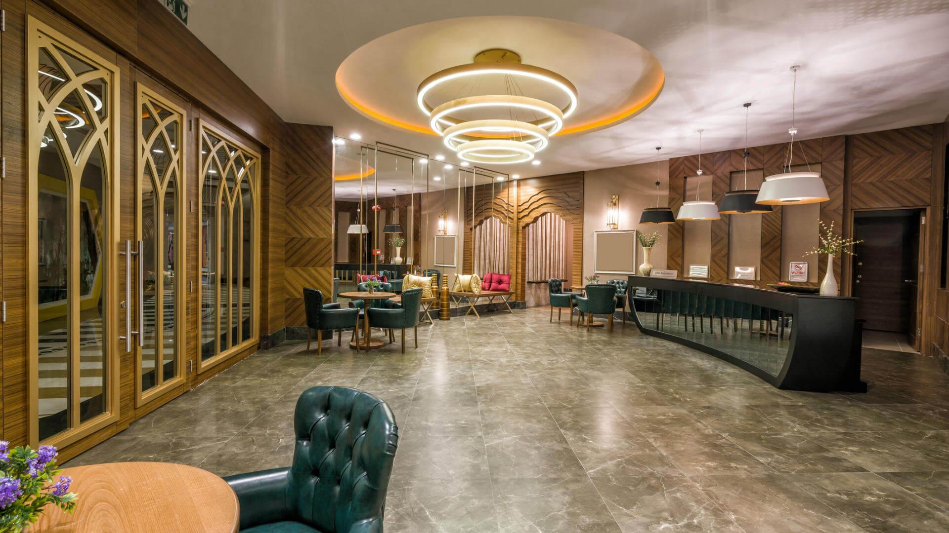 recepcion hotel lujo