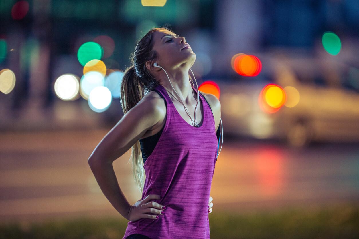 running en la ciudad