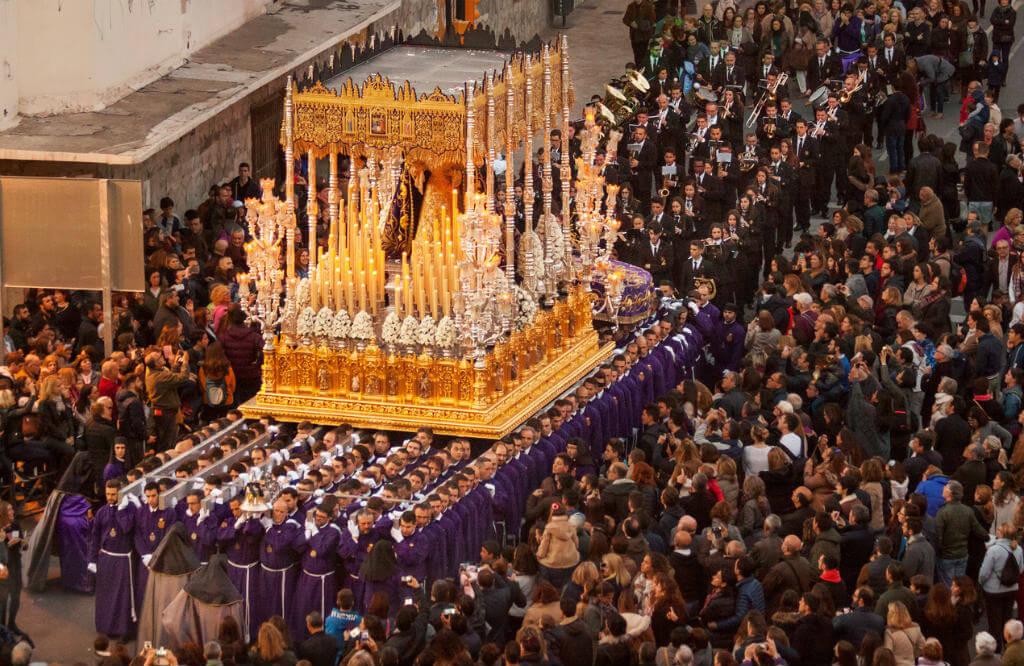 Semana Santa en Málaga, Procesión Ballesteros