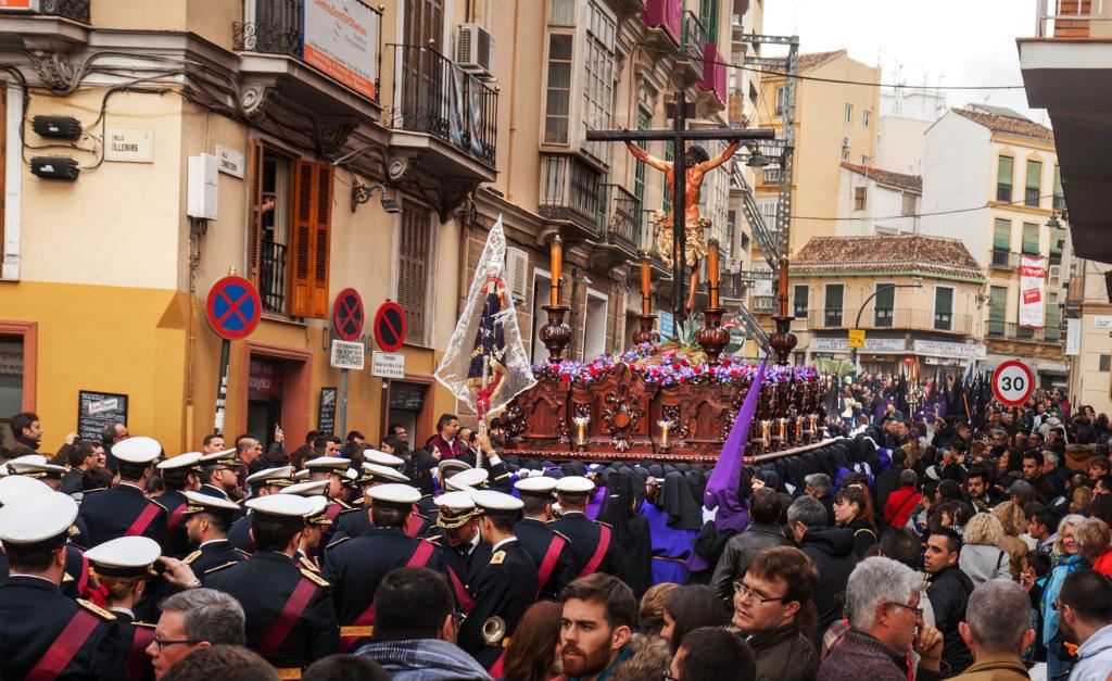 Semana Santa en Málaga, Procesión Cristo