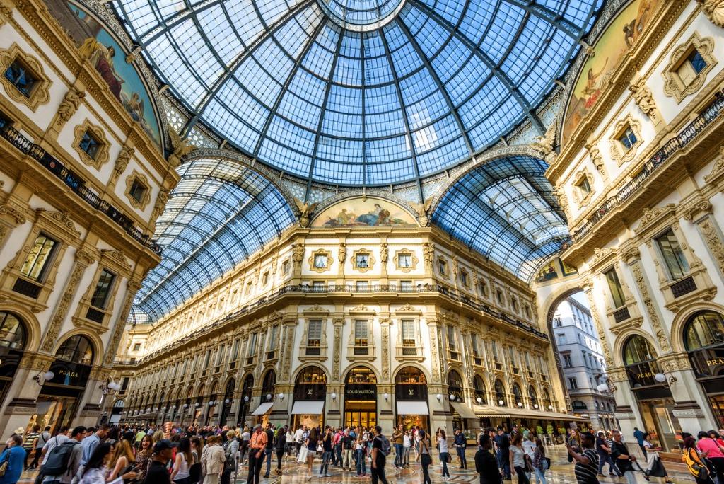 Viajar por Europa, Galería Vittorio Emmanuelle