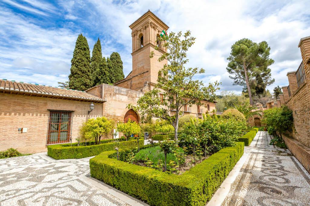 Viajar a Granada, Palacio del Generalife