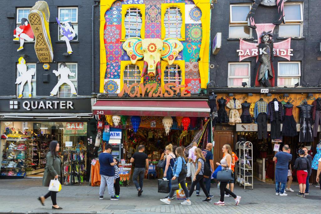 Viajar por Europa, Camden Street