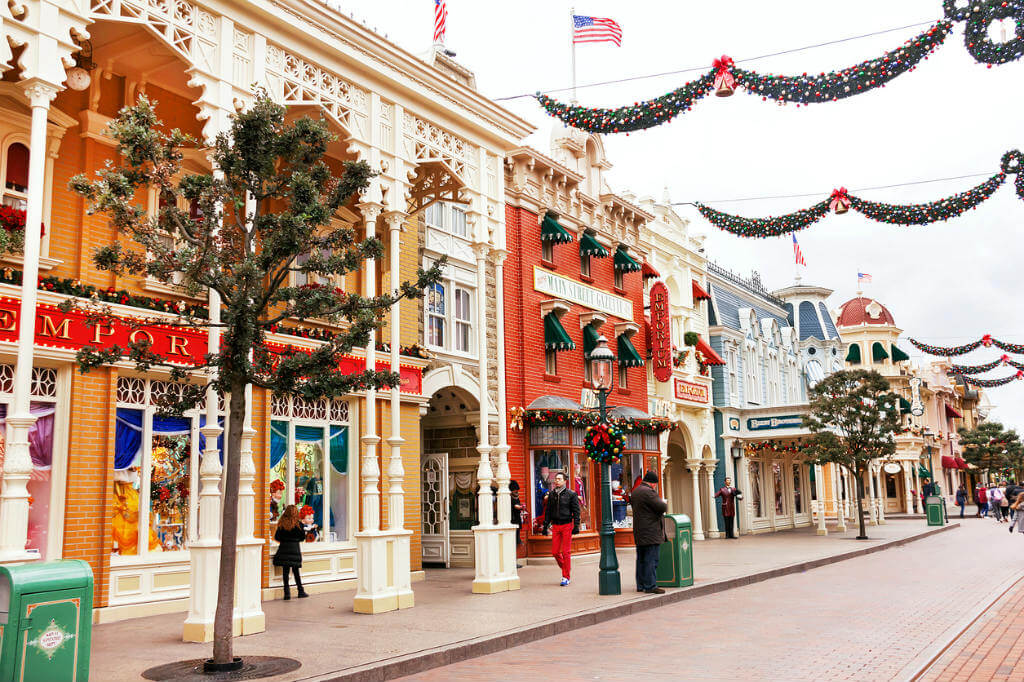 Crucero Disney, Main Street