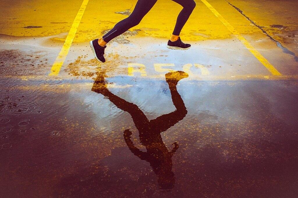 Fotos de viaje, Reflejo lluvia