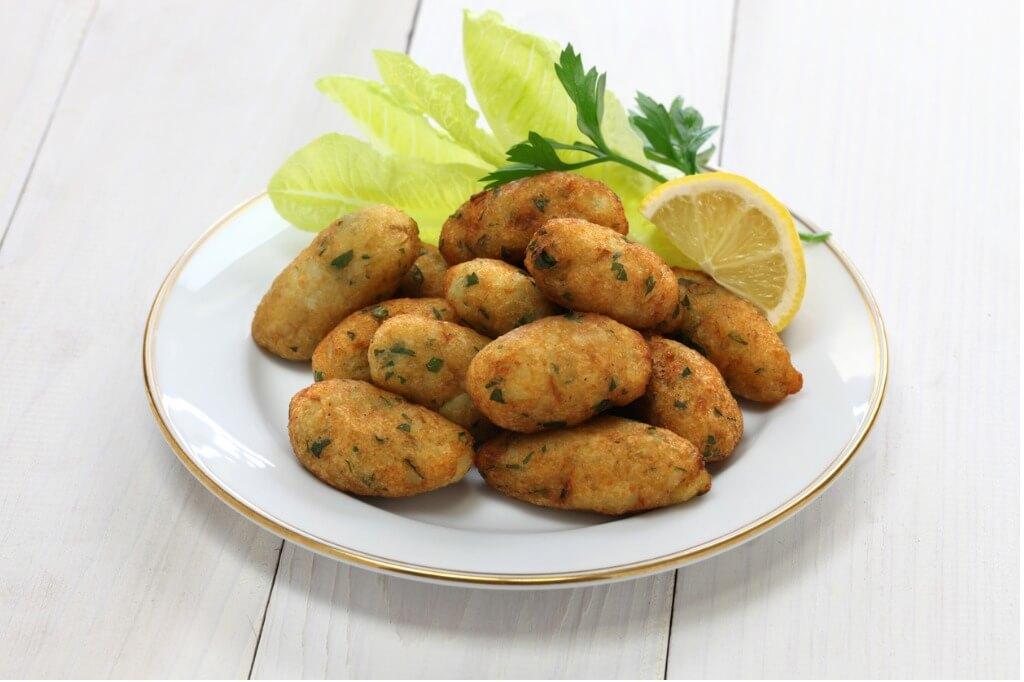 Gastronomía portuguesa, Croquetas bacalao