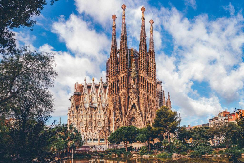 Gaudí en Barcelona, Sagrada Familia