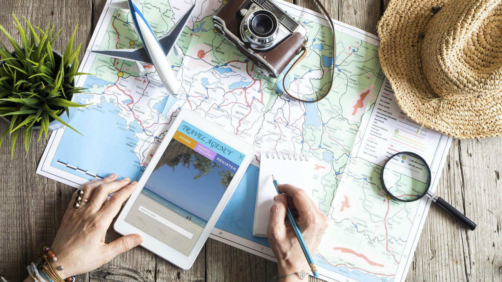 hacer gran viaje travel plan