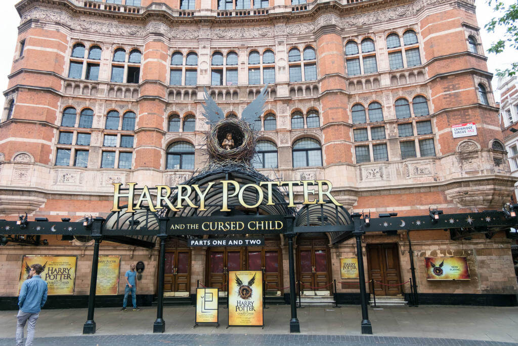 Harry Potter Londres, Teatro