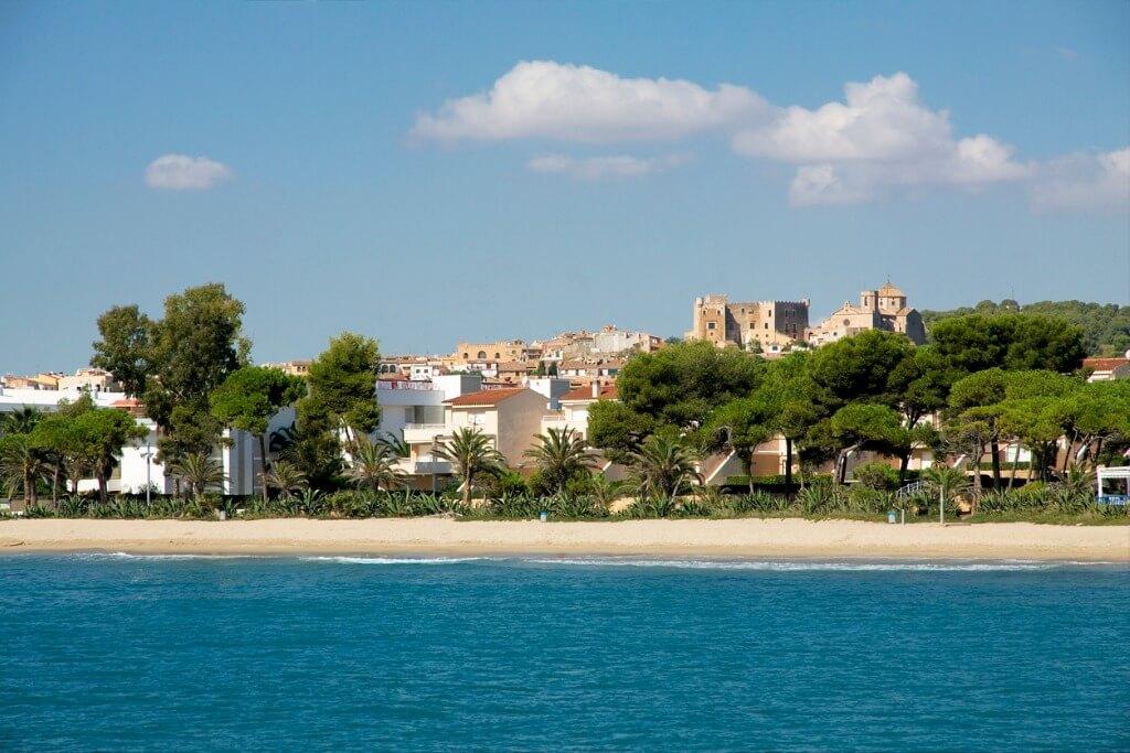 Mejores playas de la Costa Dorada, Altafulla