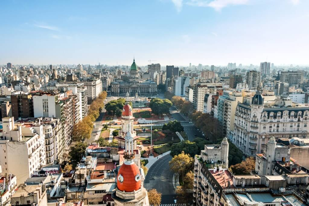 Mochileros Argentina, Buenos Aires
