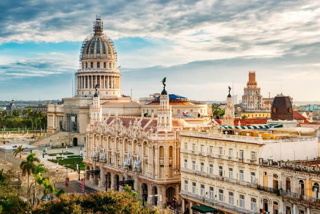 Preparar viaje a Cuba, Vieja Habana