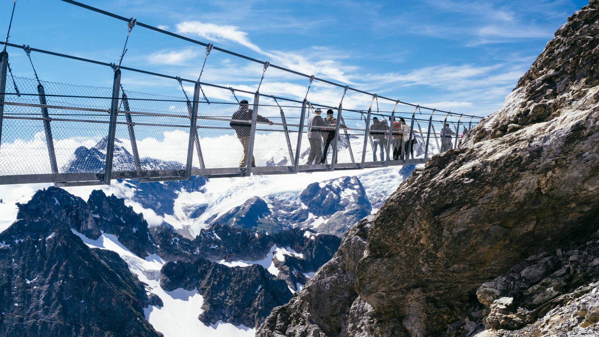vacaciones 2018 suiza puente colgante