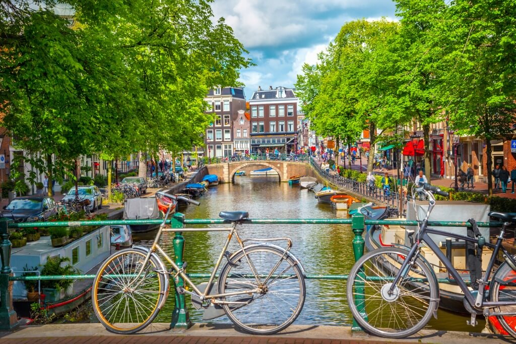 Viajar solo, Amsterdam