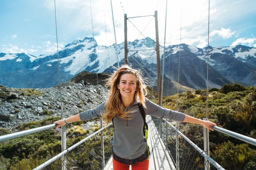 Viajar solo, Nueva Zelanda