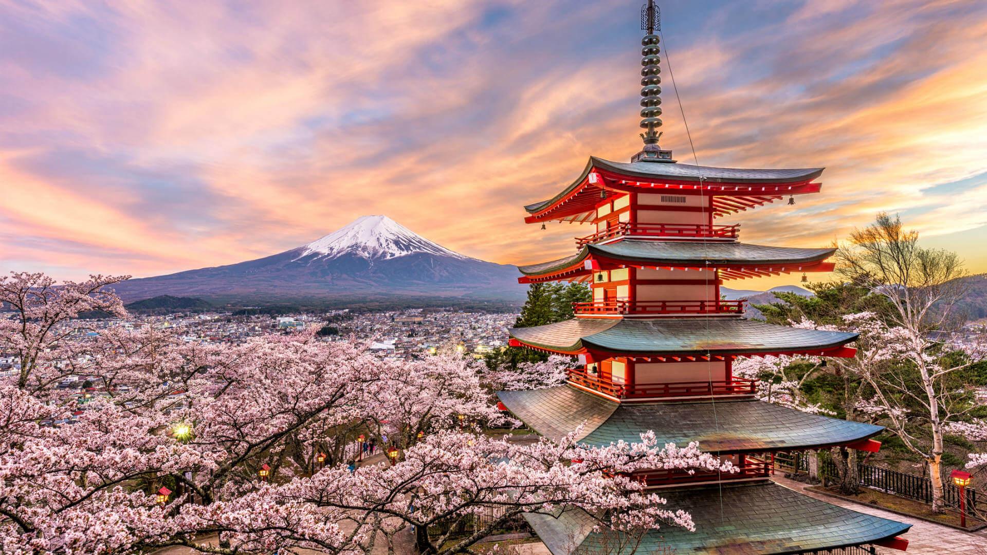 viaje a japon monte fuji