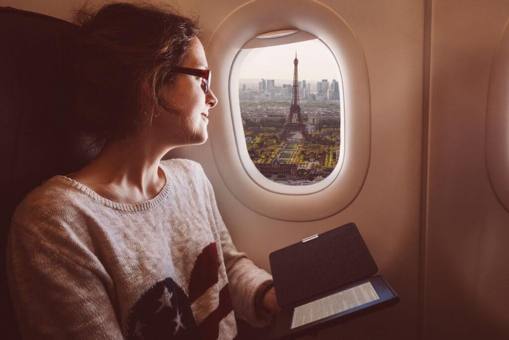 Viajes en avión, Clase turista