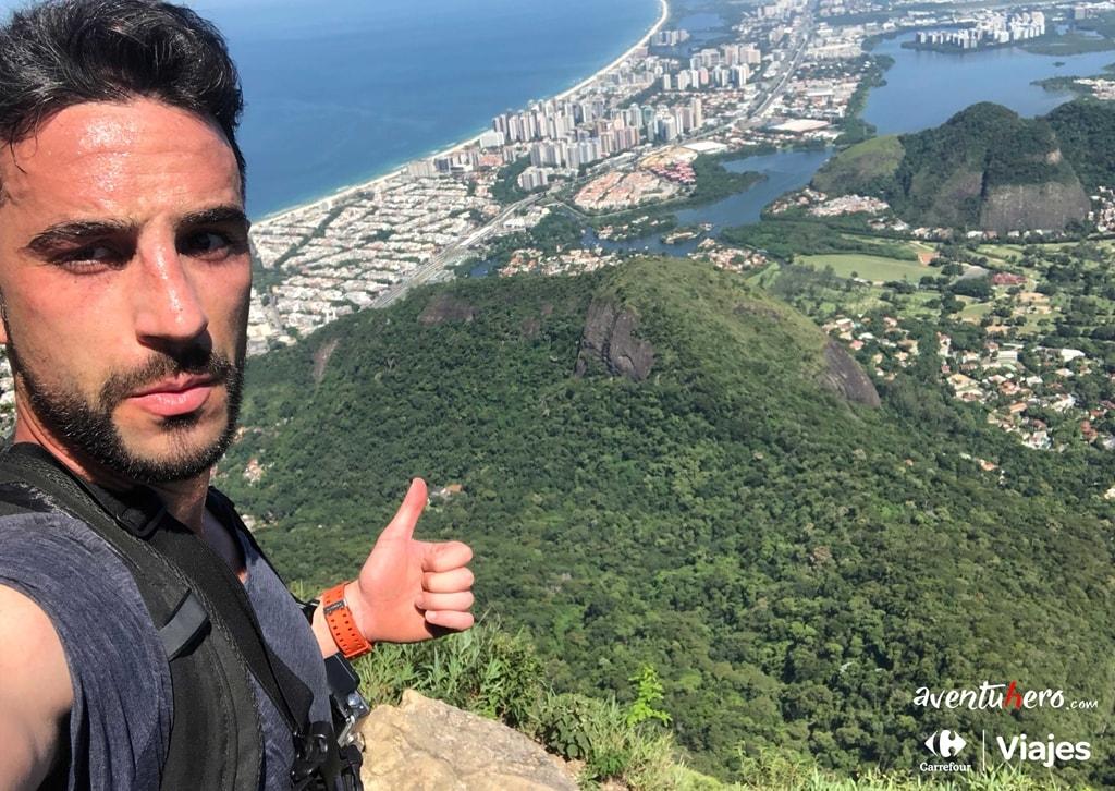 Selfie en el descenso