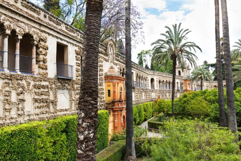 Escenarios Juego de Tronos ,Jardines Alcázar