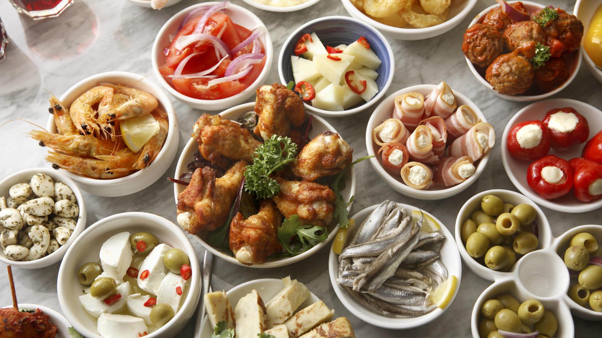 gastronomia espanola tapas
