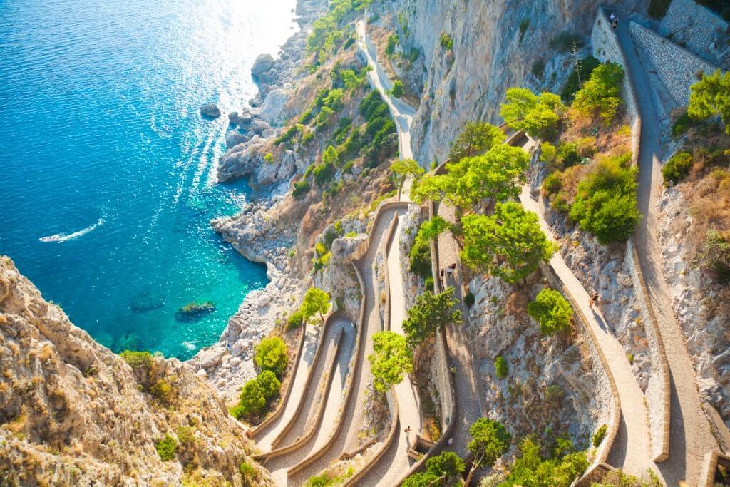 Islas poco conocidas, Capri