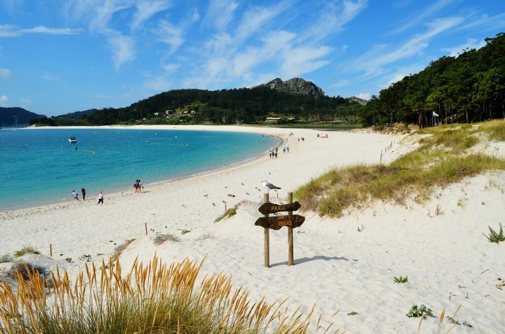Playas vírgenes España, Playa Rodas