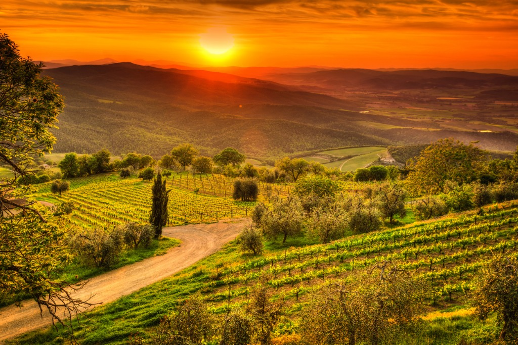 Turismo rural en Europa, Toscana
