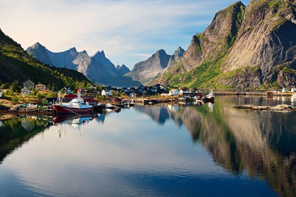 Verano con niños, Noruega